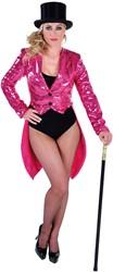 Pailletten Slipjas de Luxe Pink
