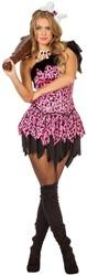 Damesjurkje Holbewoonster Pink Pebbles