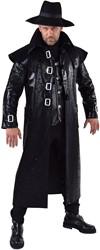Mantel Steampunk Zwart voor heren
