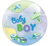 Bubble Baby Boy