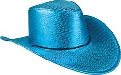 Cowboyhoed Disco Metallic Turquoise