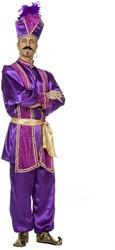 Kostuum Sultan Luxe Paars