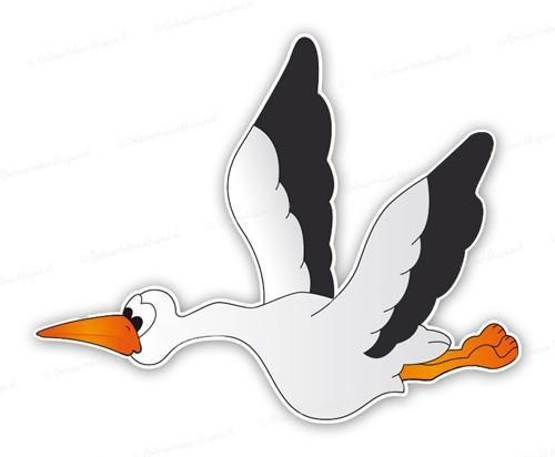 Tuinbord (verhuur) - Vliegende ooievaar