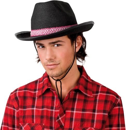 Cowboyhoed Dallas Black