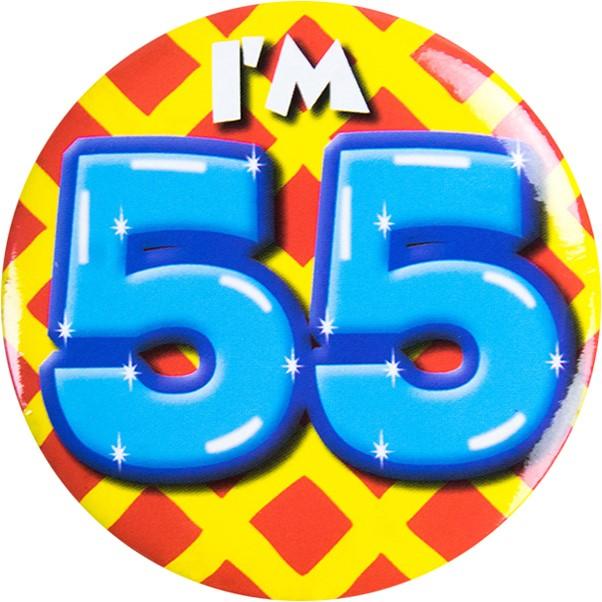 Button 55 Jaar Carnavalsland
