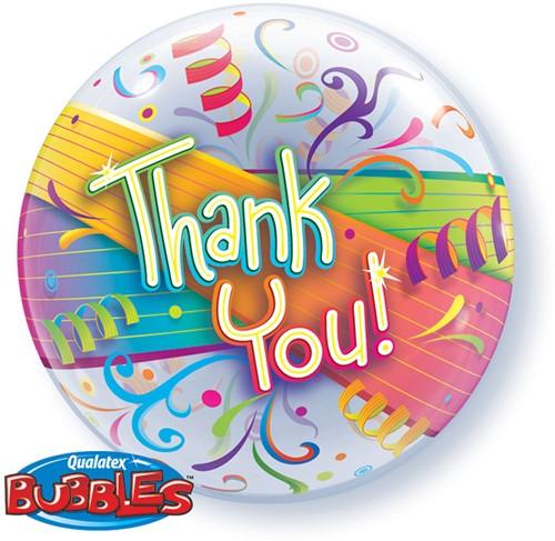 Bubble Ballon Thank You!