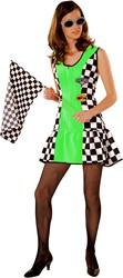 Sexy Racejurkje Groen
