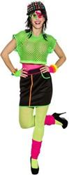 Nethemd Kort Luxe Neon Groen