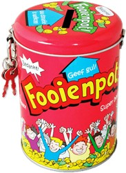 Spaarpot fooienpot cartoon
