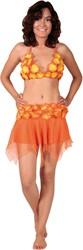 Hawai set Rok+Topje Oranje