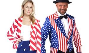 Amerikaanse Amerika USA kleding kopen bij Carnavalsland
