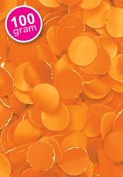 Confetti 100 gr Brandveilig Oranje
