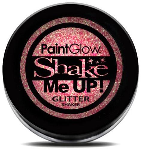 Paintglow Glitters Fijn Neon Roze 3gr.