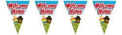 Vlaggenlijn Welcome home