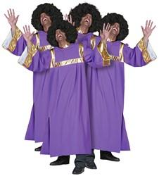 Kostuum Gospel Zanger (Gospelkoor)