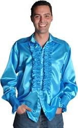 Disco Blouse Turquoise