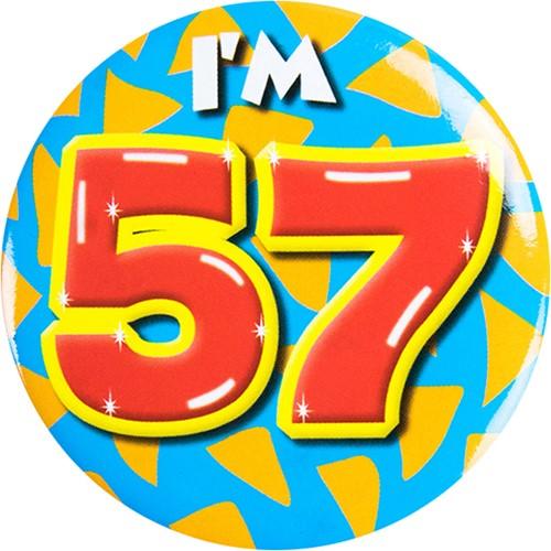 Button 57 jaar