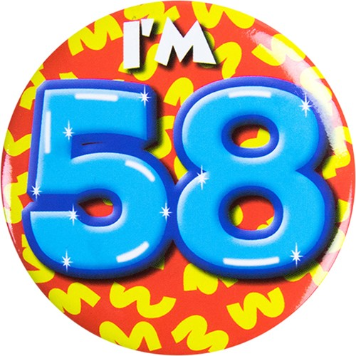 Button 58 jaar