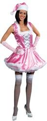 Kerstmeisje Pink / Sexy Prinses