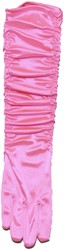 Gala Handschoenen Satijn Roze