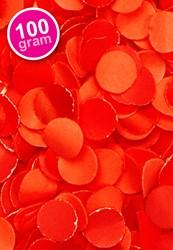 Confetti 100 gr Brandveilig Rood
