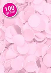 Confetti 100 gr Brandveilig Roze