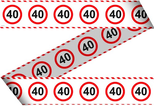 Markeerlint 40 Jaar Verkeersbord