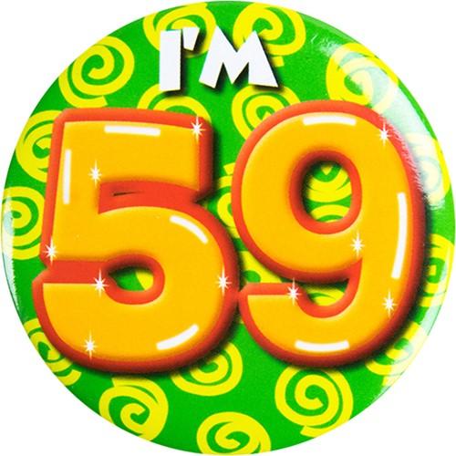 Button 59 jaar