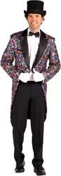 Heren Slipjas Multicolour Pailletten Luxe