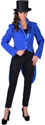 Dames Slipjas Cabaret Blauw