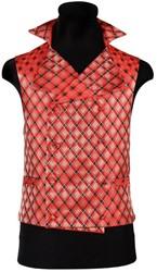 Vest Geruit Rood-Zwart voor heren