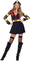 Brandweerjurkje Red Hot Fire Captain