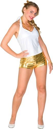 Hotpants Goud