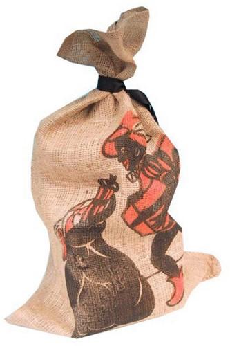 Jute Zak Zwarte Piet