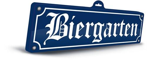 Wanddeco Biergarten