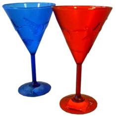 Cocktailglas Hawai Blauw Plastic