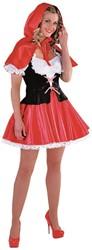 Dameskostuum Roodkapje de Luxe