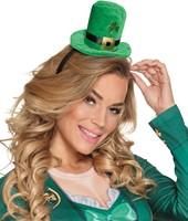 Diadeem met Hoedje St. Patricks Day-2
