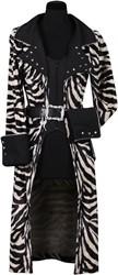 Damesjas Zebra Luxe
