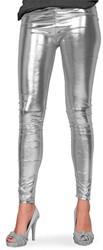 Legging Metallic Luxe Zilver