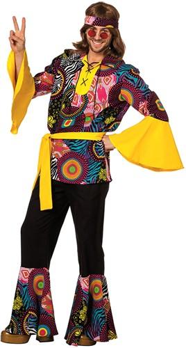Heren Hippie Kostuum Cirkel