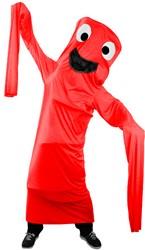 Kostuum Skydancer Rood voor kinderen