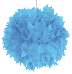 Decoratie Pompom Lichtblauw 30cm