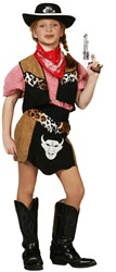 Cowgirl Kostuum Buffalo voor meisjes