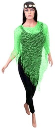 Toppers Poncho Groen