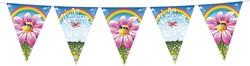 Vlaggenlijn Welkom Thuis Regenboog 6mtr.