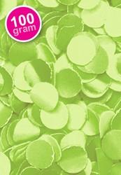 Confetti 100 gr Brandveilig Lime Groen