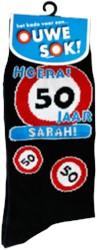 Ouwe sok! 50 jaar Sarah!
