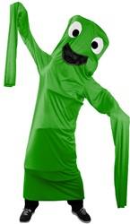 Kostuum Skydancer Groen voor kinderen