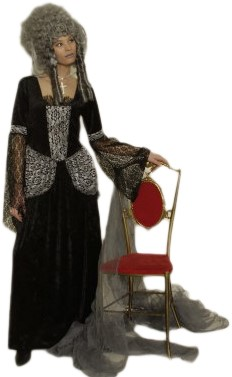 Damesjurk Zwarte Weduwe